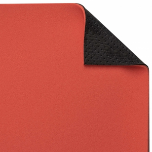 Dyafoam bekleed met Lavero Sensation Classic zwart aangeperforeerd