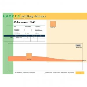 Milling-block 1165
