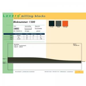 Milling-block 1300