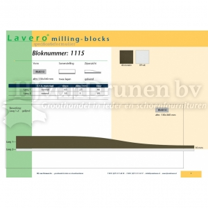 Milling-block 1115