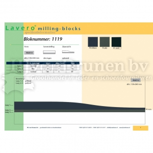 Milling-block 1119