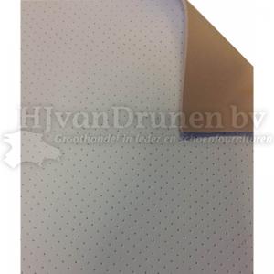 Kalfsvoering Q aangeperforeerd  bekleed met Pilastra - beige/huidskleur