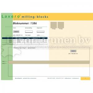 Milling-block 1386