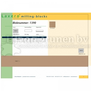 Milling-block 1390