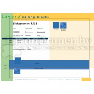 Milling-block 1333