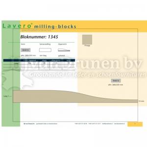 Milling-block 1345