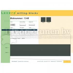 Milling-block 1348