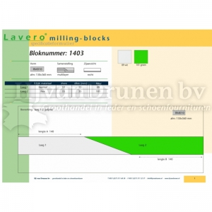 Milling-block 1403