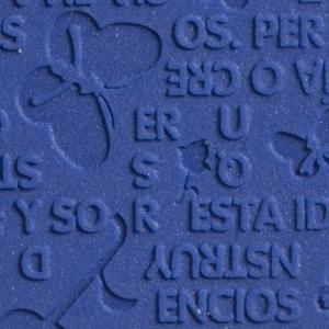 Zoolrubber Lavero flex profielen - 103 blauw