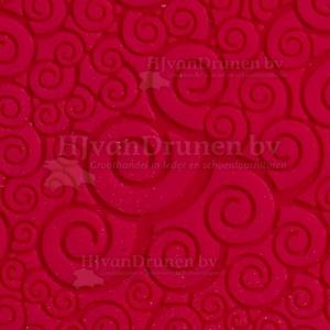 Zoolrubber Lavero flex profielen - 102 rood