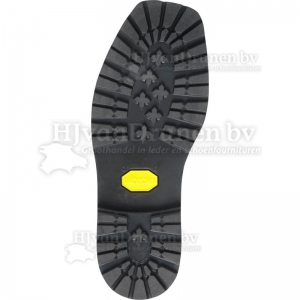 Vibram 1136 profielzool - zwart