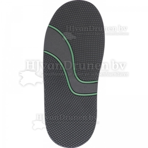 Onderwerk Freetime - zwart - groene streep