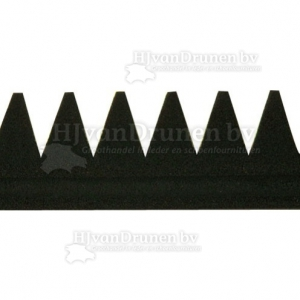 E.V.A. rand 3 met kant - 81 zwart