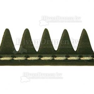 Rubberrand 24 - zwart