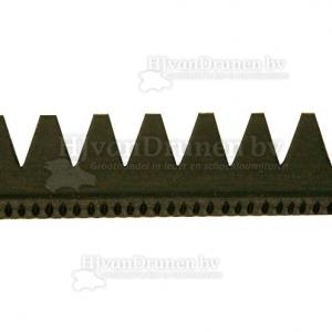 Rubberrand 25 - zwart