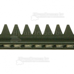 Rubberrand 38 - zwart