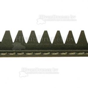 Rubberrand 31 - zwart