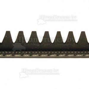 Rubberrand 37 - zwart