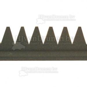 E.V.A. rand 3 met kant - 80 extra d-grijs