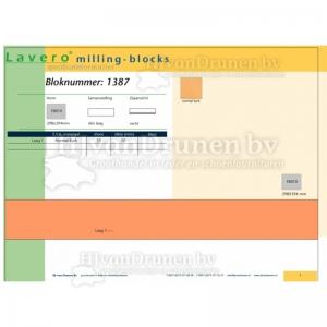 Milling-block 1387