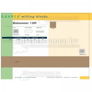 Milling-block 1389