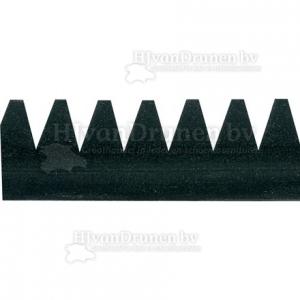 E.V.A. rand 6 extra hoog - 81 zwart